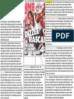 Dizzee Rascal Cover Analysis
