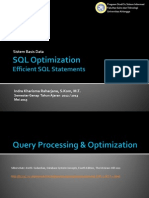 09 - SQL Optimization--Efficient SQL