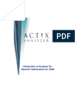Actix Analyzer Training Manual for GSM