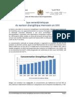Les caractéristiques du secteur énergétique marocain en 2011.pdf