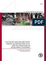 Success and Failure of Agriculture FAO