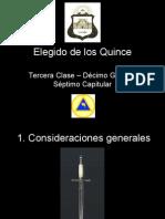 Grado 10 Elegido de Los Quince