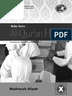 AL-QUR'AN HADITS X untuk GURU.pdf