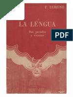 La Lengua - Sus pecados y excesos (P. Lejeune).pdf