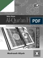 AL-QUR'AN HADITS X untuk SISWA.pdf