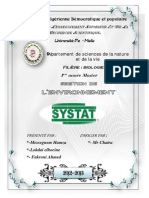 traitement des données par SYSTAT
