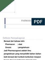 Ppt Farmakognosi 1.1