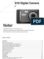 ViviCam 8018 Camera Manual