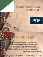 Teknik Audit Investigasi