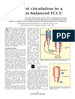 Catalyst Circulation in Pressure Balance