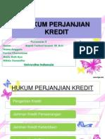 10_HUKUM PERJANJIAN KREDIT_KARINA_MADE_NIKKIE.ppt
