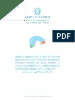 Le spese delle elezioni politiche 2008 in Italia nel dossier della corte dei conti