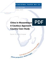 China in Mozambique