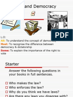 the law and democracy l 3