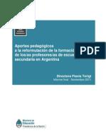 06. APORTES PEDAGÓGICOS A LA REFORMULACIÓN DE LA FORMACIÓN I (1) (1).pdf