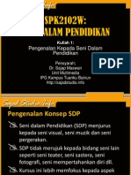 kuliah1-Pengenalan Kepada Seni Dalam Pendidikan (1).ppt
