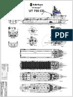 Plan UT 755 bunkering tanker