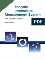 [Scheller G.] Error Analysis of da Temperature Meas(BookZZ.org)