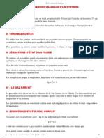 Cours et Exercices - ÉTAT THERMODYNAMIQUE.pdf