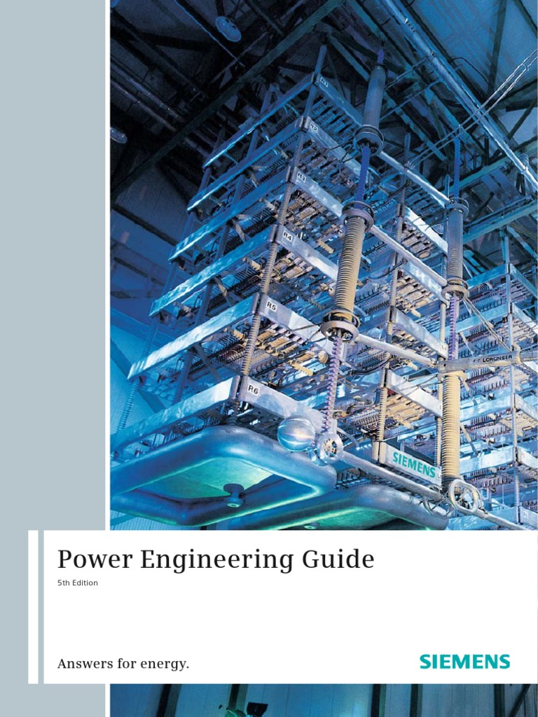 Peg Catalog Siemenspdf High Voltage Direct Current Electric Hb3 Generator Circuitbreaker Switchgear Power Transmission