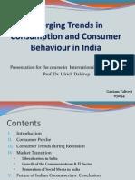 Consumerism in India - Intl. Mgmt.