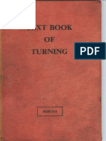 Text Book of Turning