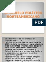 EL MODELO POLÍTICO NORTEAMERICANO.ppt
