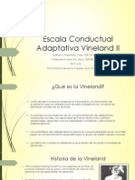 Escala Conductual Adaptativa Vineland II