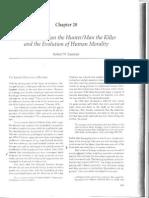 The myth of man the hunter:man the killer and the evolution of human morality.pdf
