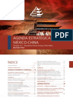 AGENDA ESTRATEGICA MEXICO-CHINA 2012-2018. AGENDASIA
