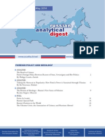 Russian Analytical Digest 148