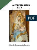 DIÓCESIS DE LOMAS DE ZAMORA. Guía Eclesiástica 2012.pdf