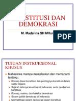 1. Konstitusi Dan Demokrasi