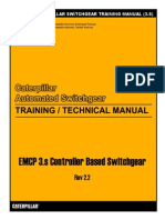 Caterpillar Switchgear Training Manual (3.s)