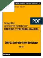 Caterpillar Switchgear Training Manual (3.s)