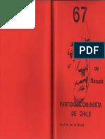 Boletín del Exterior Partido Comunista de Chile Nº67