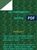 La investigación jurídica.ppt