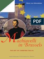 Rinus Van Schendelen - Machiavelli in Brussels