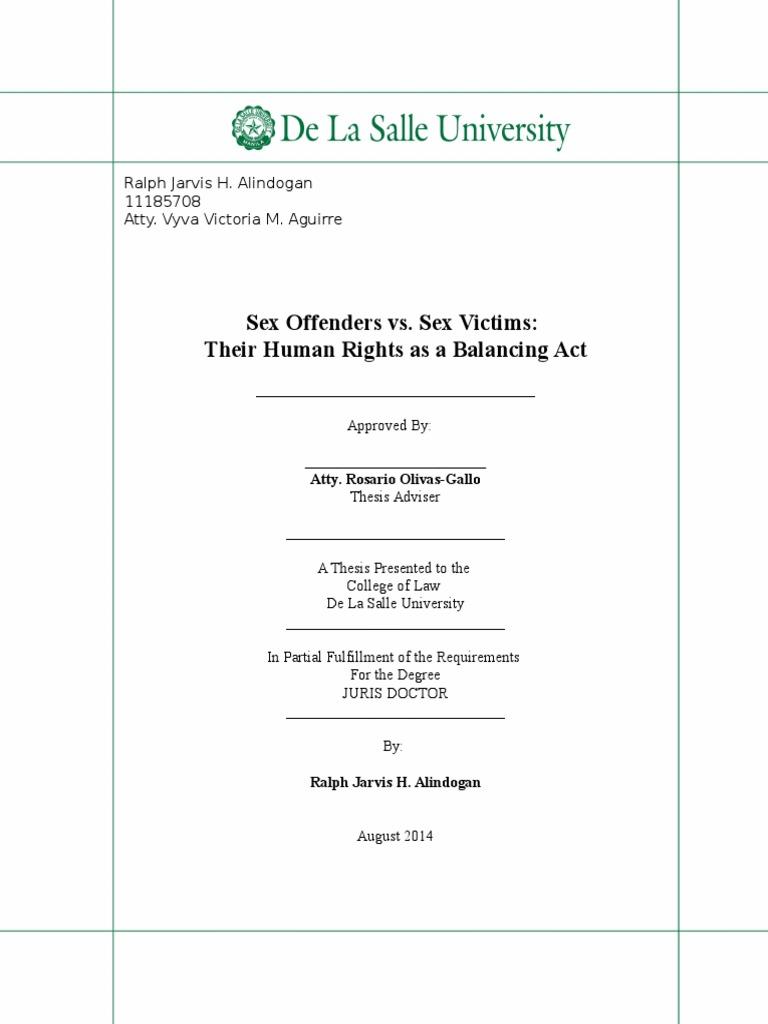 Dissertation proposal service justice