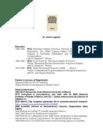 CV of Jaime Lagunez