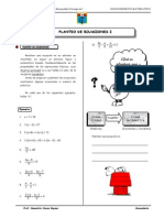 Sesion de Aprendizaje de Planteo de Ecuaciones I  Ccesa007.pdf