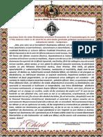 Anatema Patriarhia Ortodoxa Constantinopol 1756
