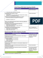 PALS Rhythm Disturbance and Vascular Access Skills Station Competency Checklist 2011
