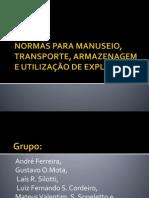 NORMAS PARA MANUSEIO, TRANSPORTE, ARMAZENAGEM E (1).pptx
