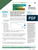 Drive Drink Estimates 2012