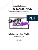 Smart Solution Un Matematika Sma 2013 (Skl 6.1 Statistika (Ukuran Pemusatan Atau Ukuran Letak))