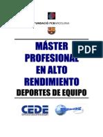 ENTRENAMIENTO PARA EL DISEÑO DE TAREAS EN LOS DEPORTES DE EQUIPO.Xesco y Toni Girona Master Alto Rendimiento 4 -moze-.pdf