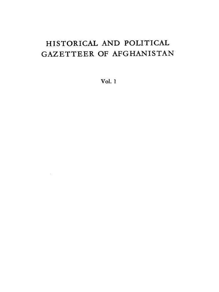 08b409f0bb3 1972 Historical and Political Gazetteer of Afghanistan Vol 1 Badakshan and  NE Afghanistan s.pdf