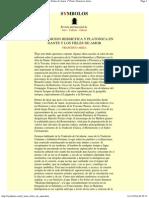 La Tradicion Hermetica y Platonica en Dante y Los Fieles de Amor