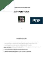 PLANIFICARE EDUCATIE FIZICA